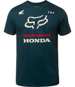 Playera Fox Honda Ss Premium Navy Moda Casual
