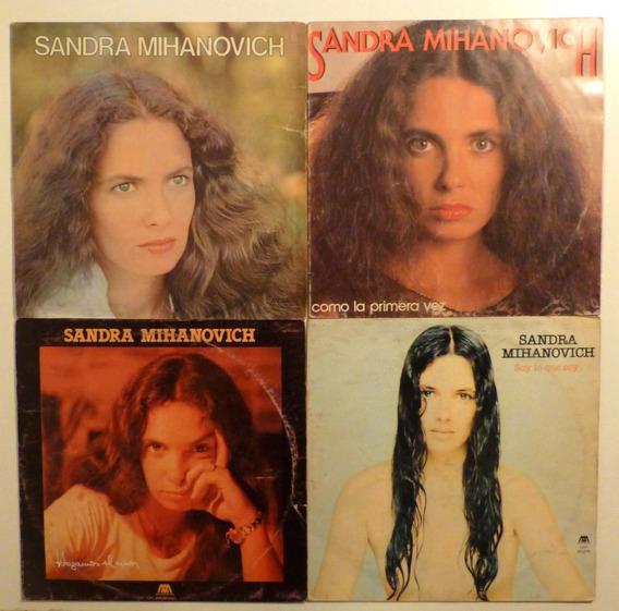 Sandra Mihanovich Discos De Vinilo Lp Lote X 4
