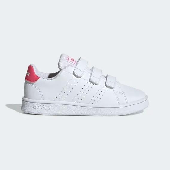 Tenis adidas Advantage C Wth/pink