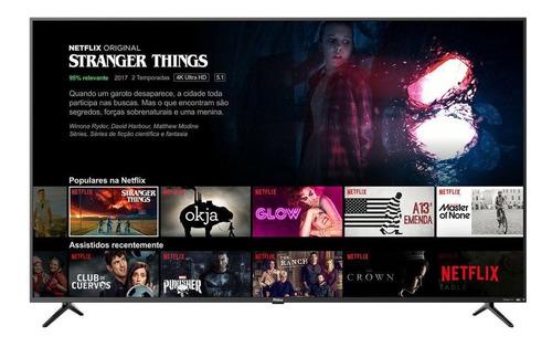 Imagem 1 de 5 de Smart Tv 4k 65  Ptv65f80sns Philco Bivolt