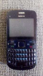 Celular Nokia C3 00 Rm 614 Tudo Funcionando