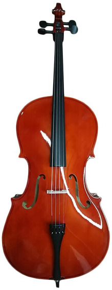 Violoncello Cello Hoffmann 4/4 Arco Resina Funda Garantia