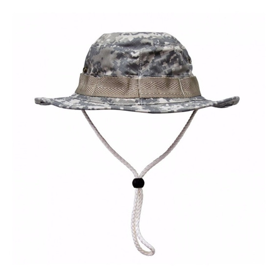 Chapéu Boonie Hat Camuflado Army Combat Proteção Uv 50
