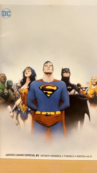 Justice League Especial #2: Tierra Sumergida (drowned Earth)