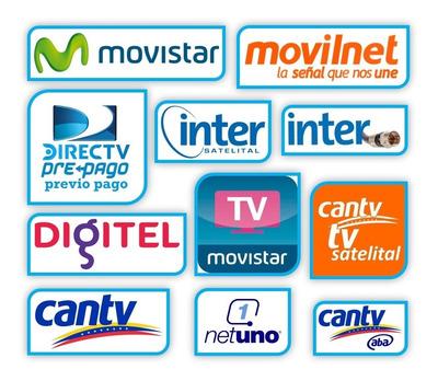 Recargas De Saldo Movistar Digitel Directv Inter