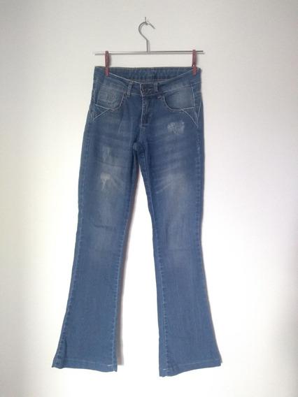 Calça Jeans Flare Feminina Zoomp