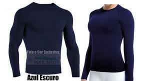 Camisa Térmica P/ Inverno E Verão C/ Proteção Solar Uv50+