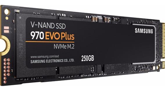 250gb Samsung Evo Plus 970 M.2 M2 Nvme Ssd Hd Nota Fiscal