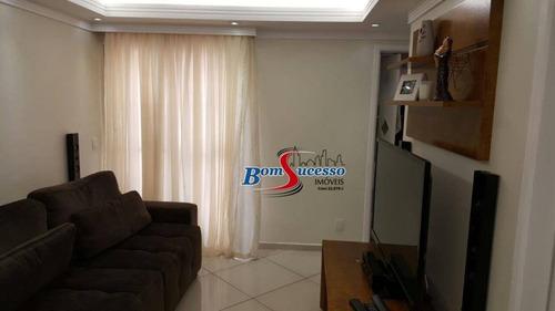 Imagem 1 de 23 de Apartamento Com 2 Dormitórios À Venda, 55 M² Por R$ 320.000 - Jardim Vila Formosa - São Paulo/sp - Ap3013