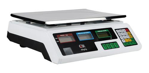 Imagen 1 de 2 de Báscula comercial digital Noval CR 40 40kg 120V 33.5cm x 22.5cm