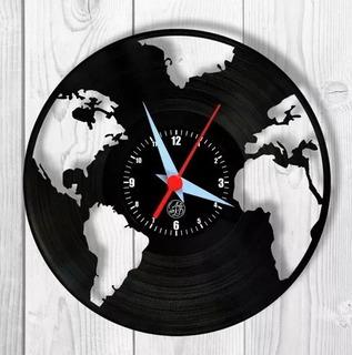 Pacote Com 10 Relógios Parede Arte No Lp Disco De Vinil Geek