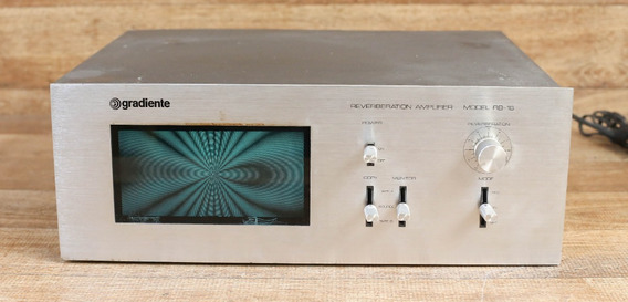 Gradiente Reverberation Amplifier Model Rb-16 Reverberador