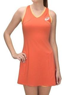 Vestido Asics Com Shorts Para Corrida De Rua E Tenis Tnb2514