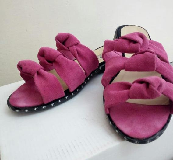 Sandalias Bajas De Dama