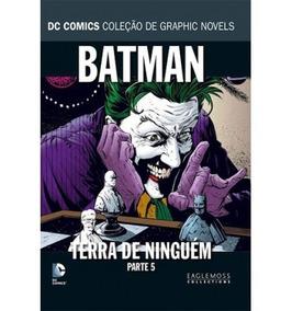 Batman Terra De Ninguém Coleção Dc Graphic Novels -parte 5