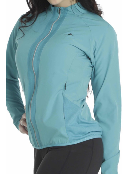 Campera Abyss Mujer Fit Running Gym Microfibra Liviana