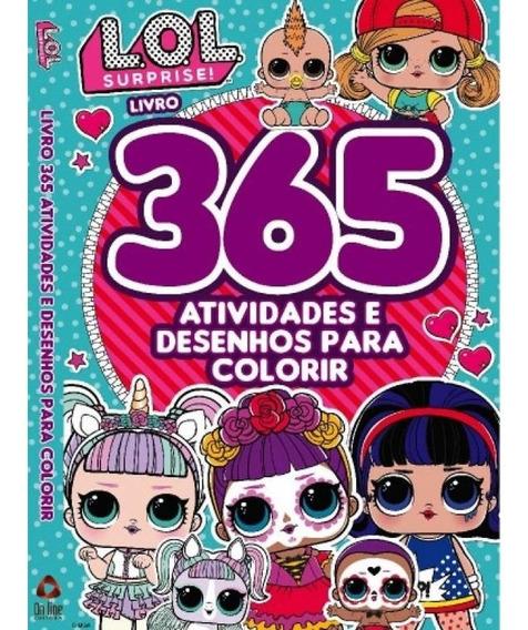 Livro Lol 365 Atividades E Desenhos Para Colorir Curitiba