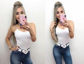 Body Alcinha - Branco