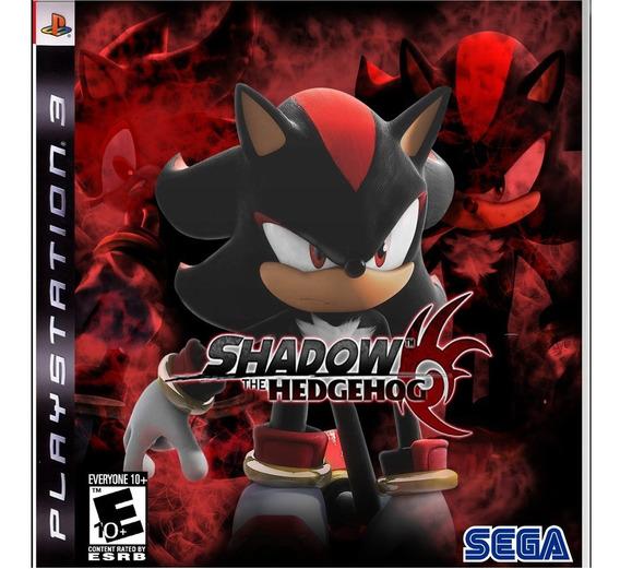 Jogo Shadow The Hedgehog Ps3 Psn Game Playstation 3 Play 3