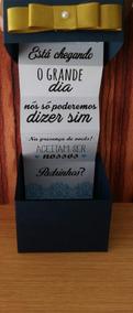 12 Caixas Convite Padrinho/madrinha De Casamento