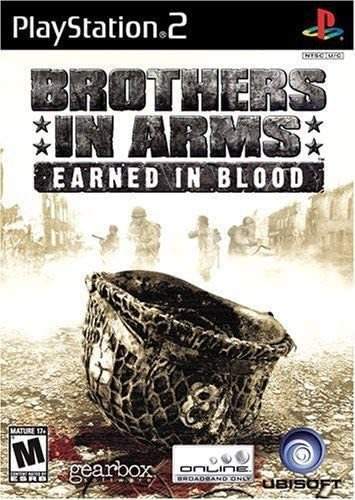 Jogo Brothers In Arms: Earned In Blood Ps2