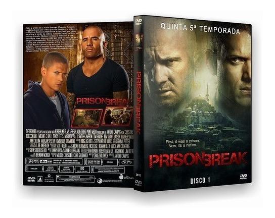 Dvd Prison Break 5ª Temporada Dublado E Legendado