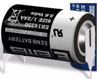 Pila Bateria Eemb 14250 3.6v Con Terminal - Por Unidad