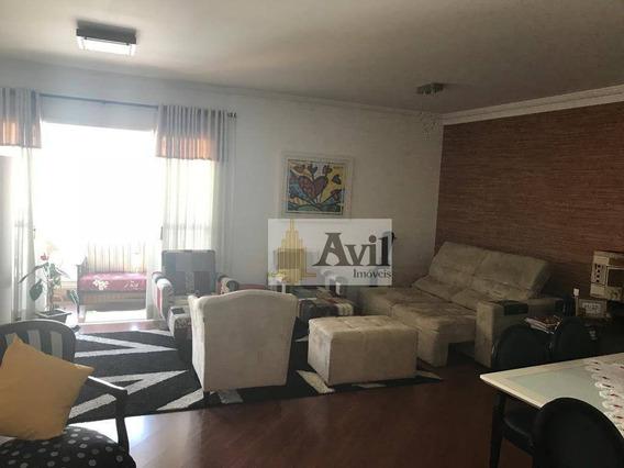 Apartamento Com 3 Dormitórios À Venda, 124 M² Por R$ 1.060.000 - Tatuapé - São Paulo/sp - Ap2061