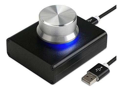 Imagen 1 de 8 de Mini Perilla De Control De Volumen Usb Ajustador De Audio Co