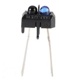 50 Unidades Sensor Infravermelho Emissor Receptor Tcrt5000