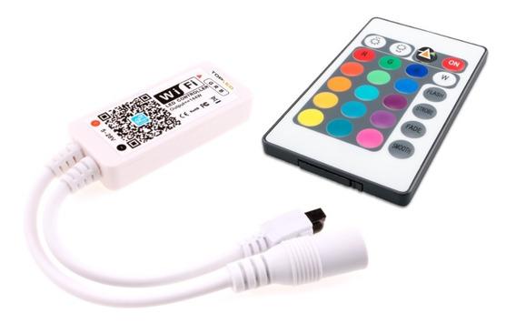 Controlador Tira Led Rgb Wifi Audioritmico iPhone Androd @tl