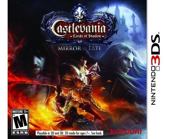 Jogo Castlevania Mirror Of Fate Nintendo 3ds Original Game