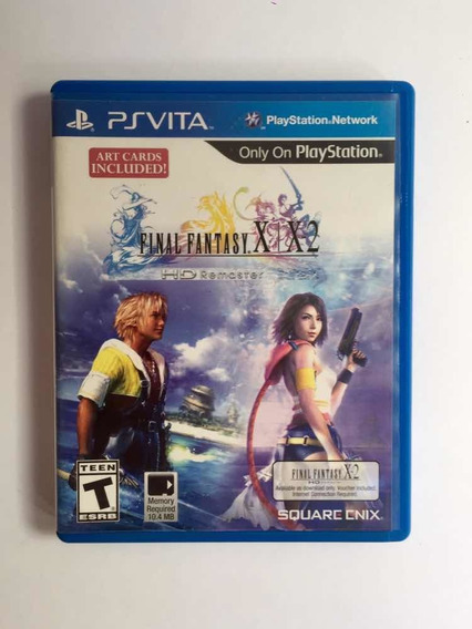 Final Fantasy X - X2 Ps Vita Mídia Física