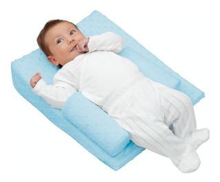 Cojín Antireflujo Anti-reflujo Antivuelco Bebé Cuña Colchón Posicionador Portabebé