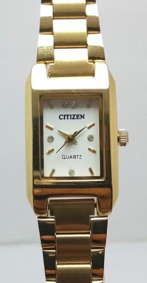 Reloj Vintage De Pulsera Colección Marca Citizen De Cuarzo