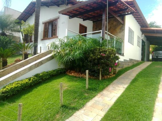 Linda Casa De Luxo Em Uma Das Melhores Ruas Do Bairro Castelo Em Bh. Região Pampulha! - 7297