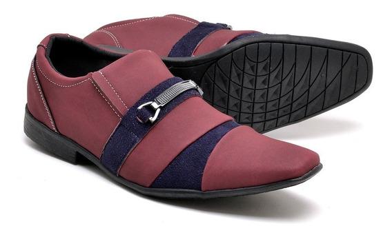 Sapato Social Verniz Esporte Fino