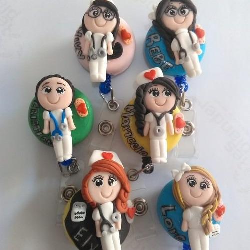 Imagen 1 de 12 de Yoyo Enfermera Decorado Varios Modelos De Pasta Flexible