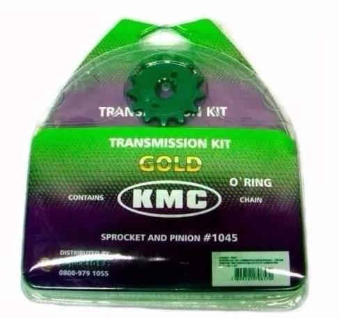 Kit Relação Transmissão Ybr Factor Todas 1045 Kmc Gold