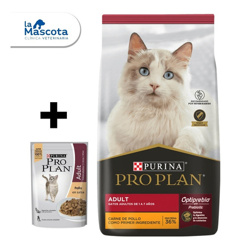 Pro Plan Gatos Adultos 7,5 Kg + Regalos. Comida Gatos