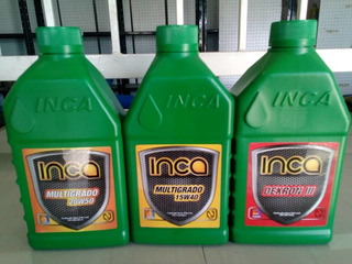 Aceite Mineral Inca Shell Slyng 15w40 20w50 1x4$ 4x15$