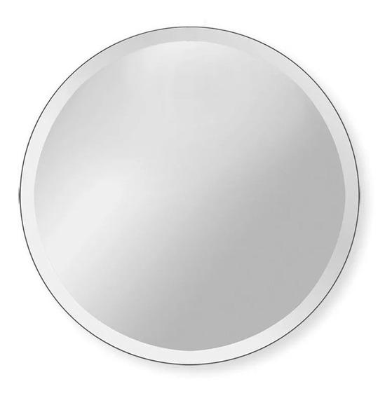 Espejo Redondo Diámetro 90 Cm Bisel 1 Pulgada + Envío Gratis