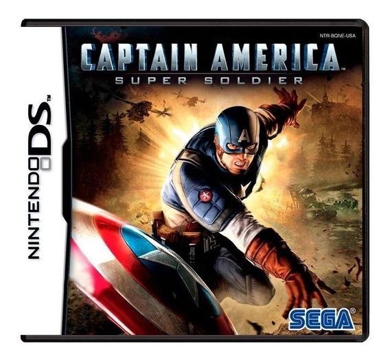 Captain America Super Soldier Ds Mídia Física Pronta Entrega