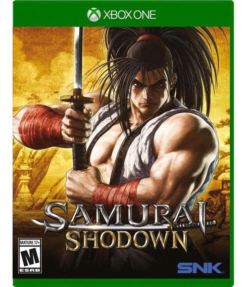 Samurai Shodown Xbox One Mídia Física Novo Original Lacrado
