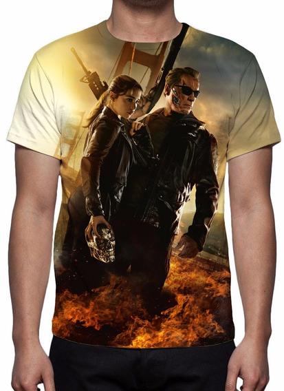 Camisa, Camiseta O Exterminador Do Futuro Gênesis - Mod 04