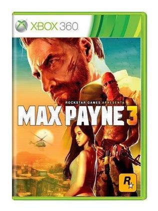 Max Payne 3 Mídia Física Original Xbox 360 Frete Grátis!!!!