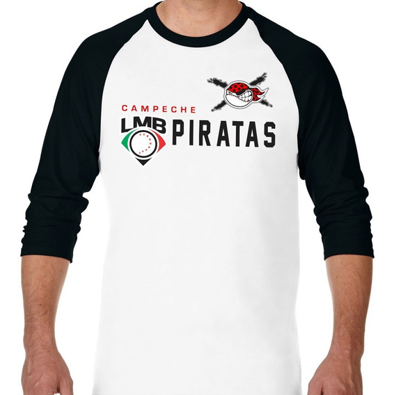 Playera Manga 3/4 Ranglan Piratas Distinction Lmb 2019