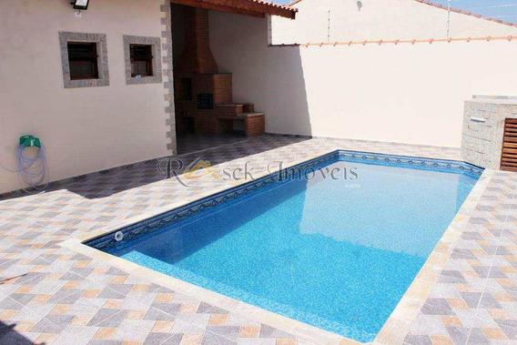 Casa Com 3 Dorms, Gaivotas, Itanhaém - R$ 389 Mil, Cod: 182 - V182