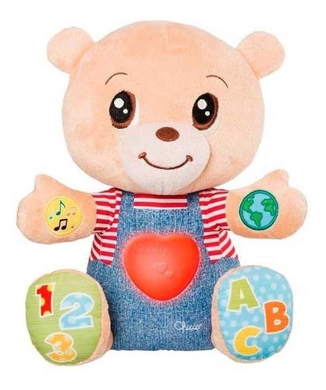 Oso Teddy Interactivo Bilingüe Luz Y Canciones Chicco