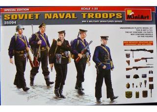 Miniart 1/35 35094 Soviet Naval Troops